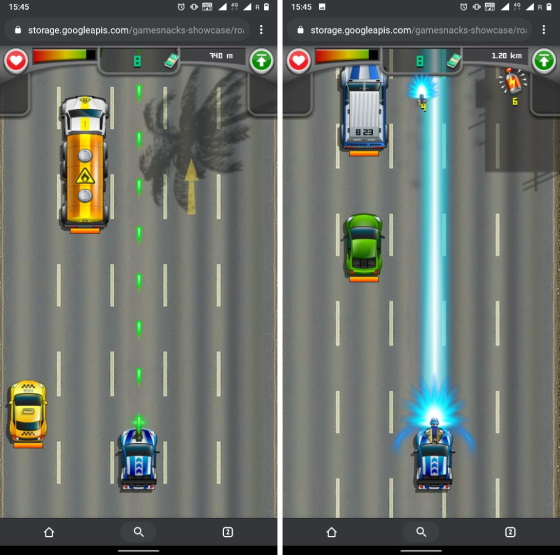 gamesnacks - google area 120 - road fury