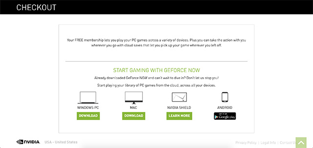 geforce now client side apps
