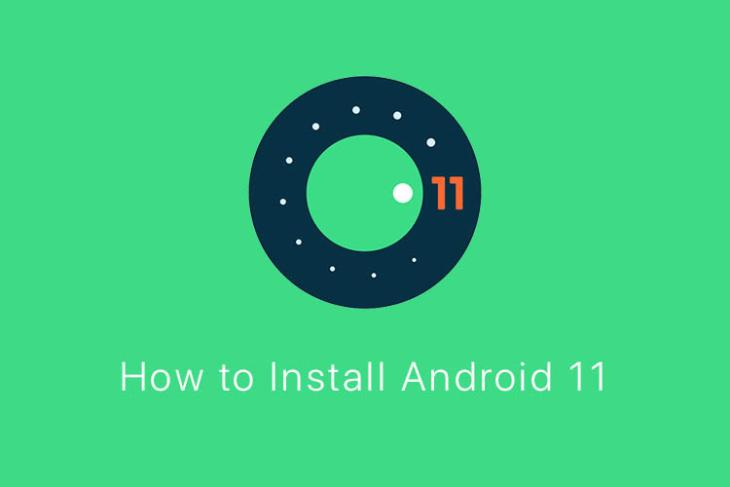 how to install android 11 dp1 featured