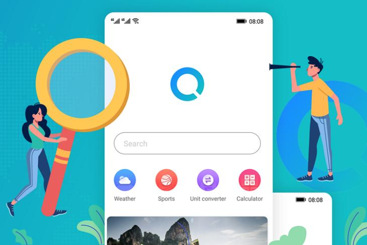 huawei search featured