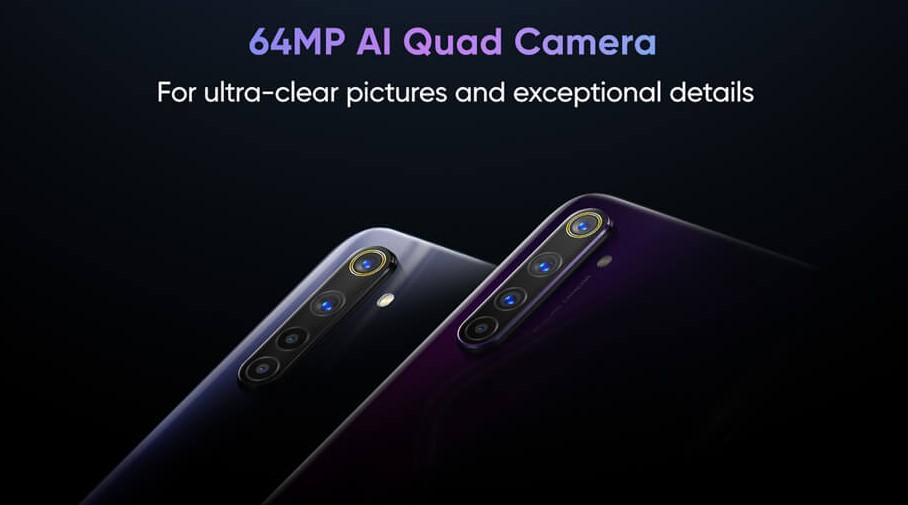 realme 6 - realme 6 pro - camera specs