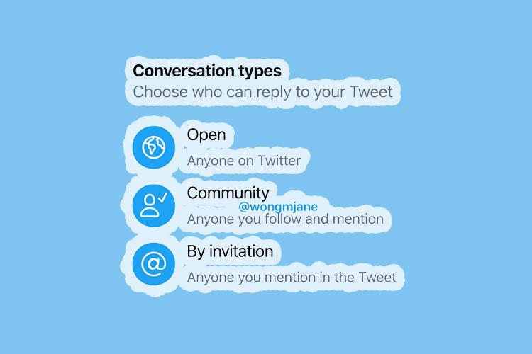twitter conversation features