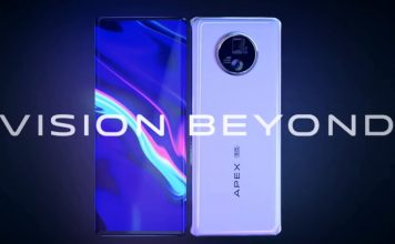 vivo apex 2020 concept phone unveiled