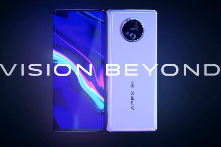 vivo apex 2020 concept phone unveiled