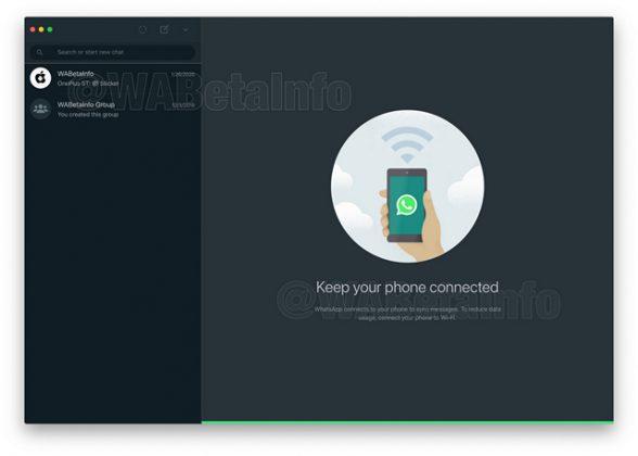 whatsapp desktop dark