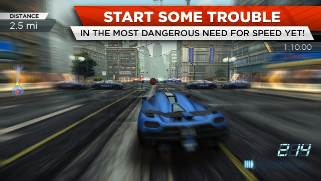 11. Need for Speed: Most Wanted
