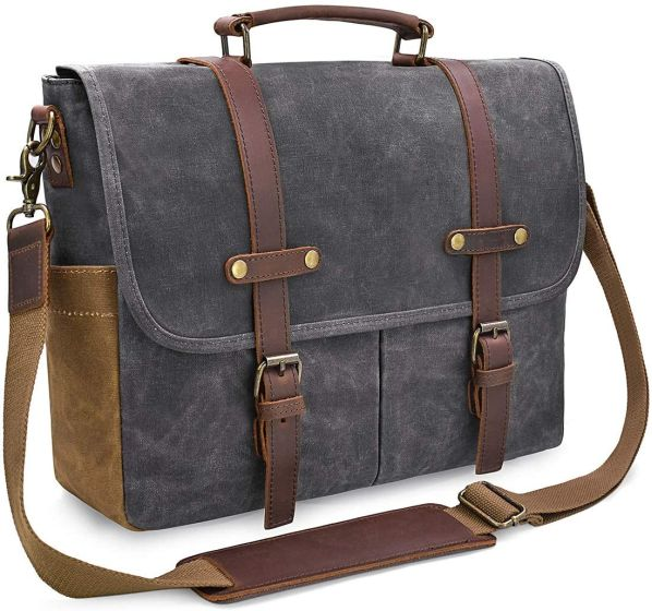 13. NewHey Leather Bag