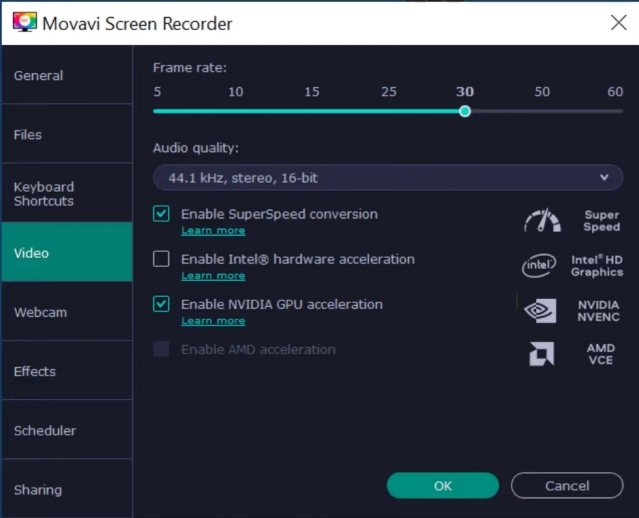 8. Movavi Screen Recorder