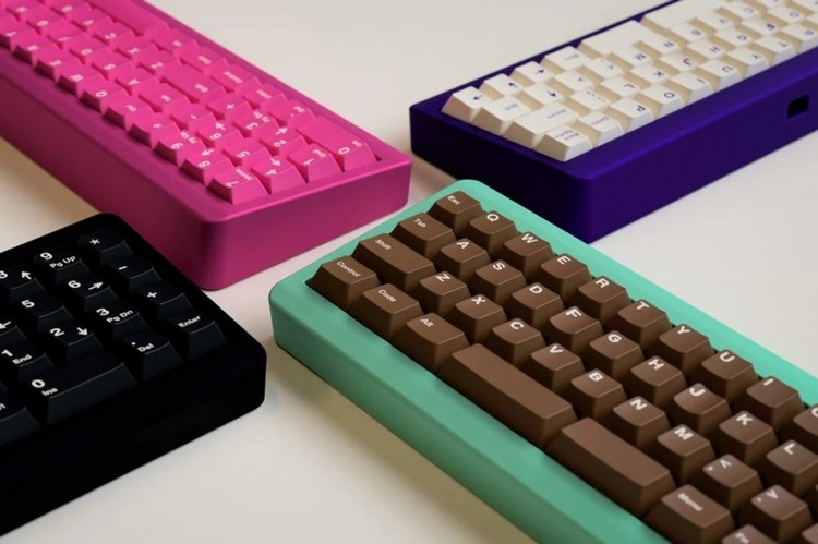 This Candybar Thing Is Actually A Really Cool Mechanical Modular Keyboard