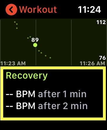 Check out HRR data on Apple Watch