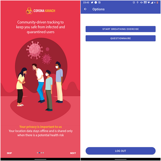Indian Govt Launches 'Corona Kavach' App to Prevent the Spread of COVID-19