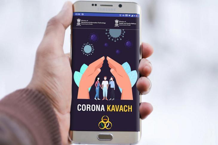 Corona Kavach website
