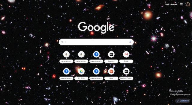 Deep Space Theme in Black