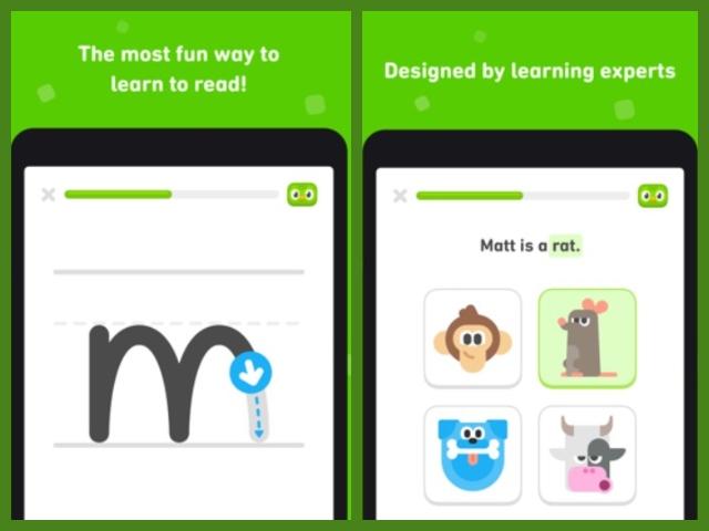 Duolingo ABC modes