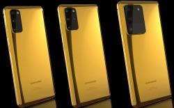 Galaxy s20 gold feat.