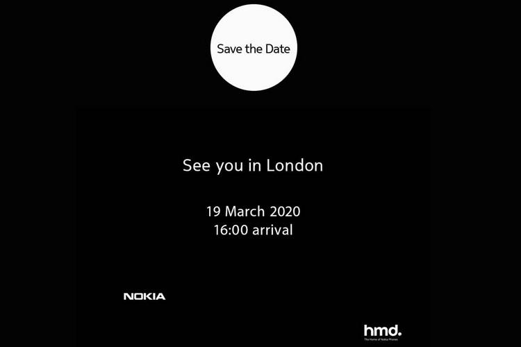 HMD Nokia London launch event website