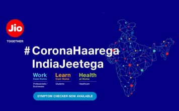 Jio Coronavirus Symptoms Checker