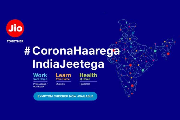 Jio Coronavirus Symptoms Checker