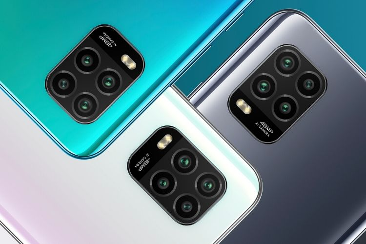 Mi 10 Lite 5G cameras