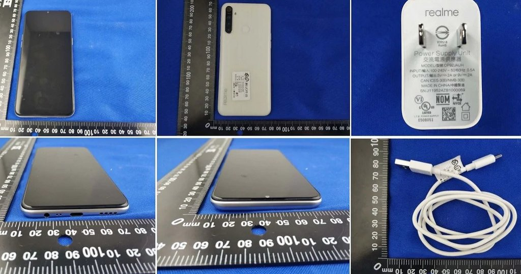 Realme 6i leaked pictures