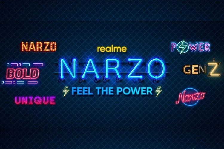 Realme Narzo new smartphone series confirmed