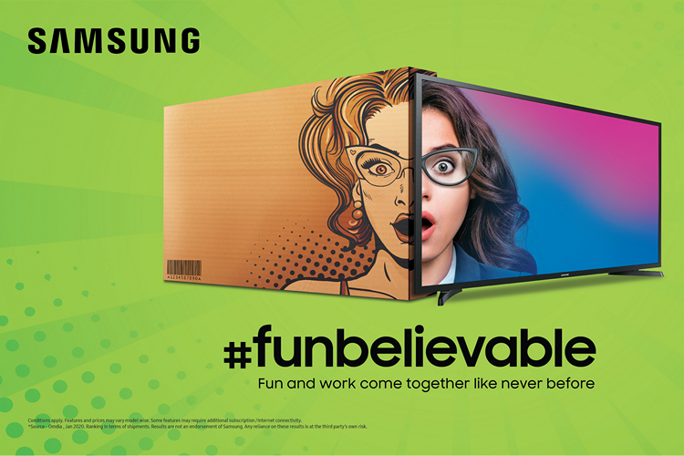 Samsung Launches New 'Funbelievable' TVs Starting at Rs 12990