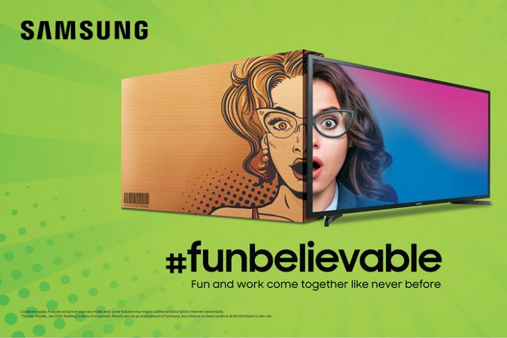 Samsung Launches New 'Funbelievable' TVs Starting at Rs 12,990