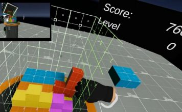 VR 3D Tetris feat.