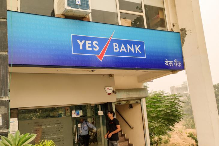 Yes Bank shutterstock website