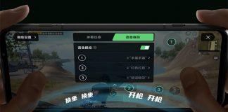 black shark 3 voice control feature