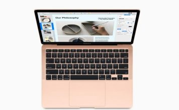 new MacBook Air with Magic Keyboard announced