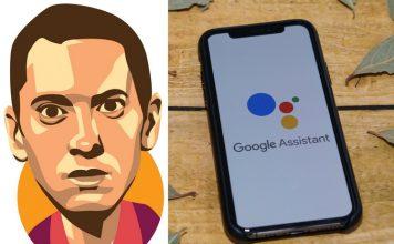 google assistant feat. eminem