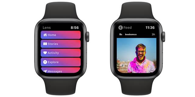 instagram app for apple watch