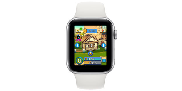 apple watch casual games micropolis