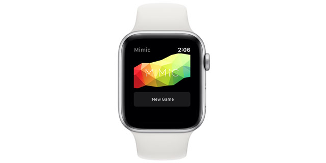 mimic the game apple watch