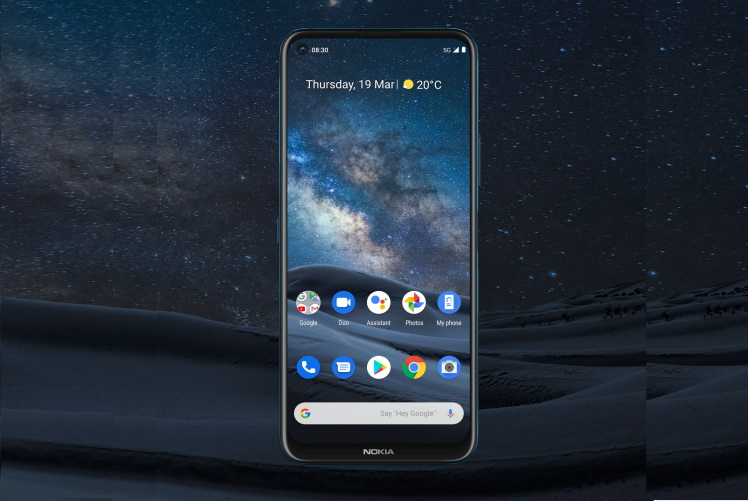 nokia 8.3 display