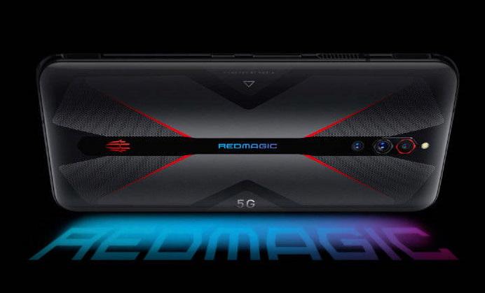 nubia red magic 5G design