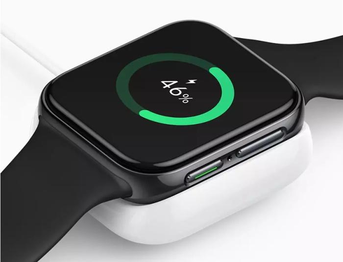 oppo watch vooc charging