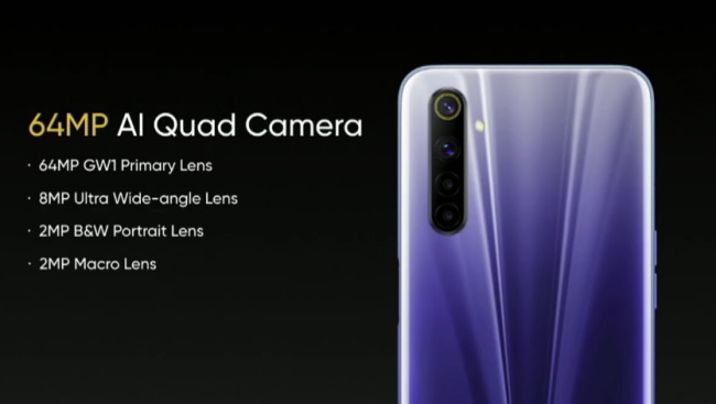 Realme 6 with 90Hz Punch-hole Display, Helio G90T Launched at Rs. 12,999