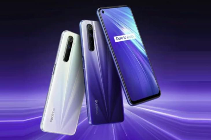 realme 6 launched - helio g90t - 30W charging