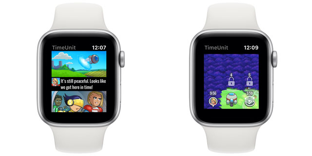 time unit apple watch game