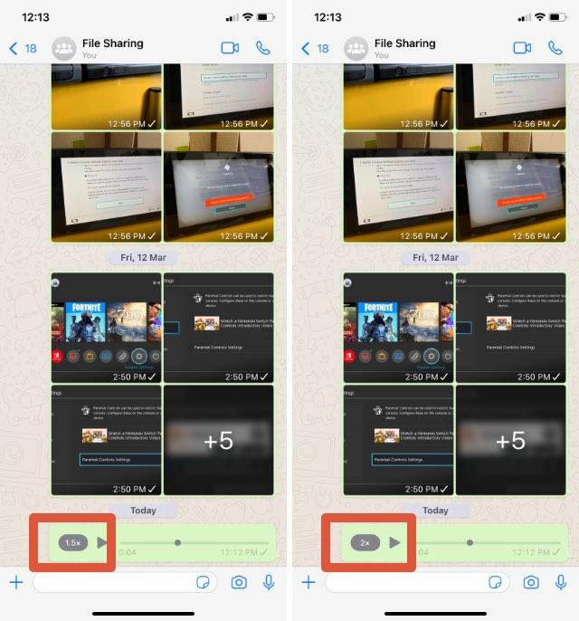 whatsapp tips adjust playback speeds