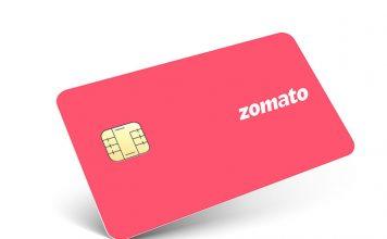 zomato credit card