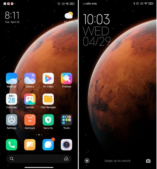 1. User Interface Best MIUI 12 Features