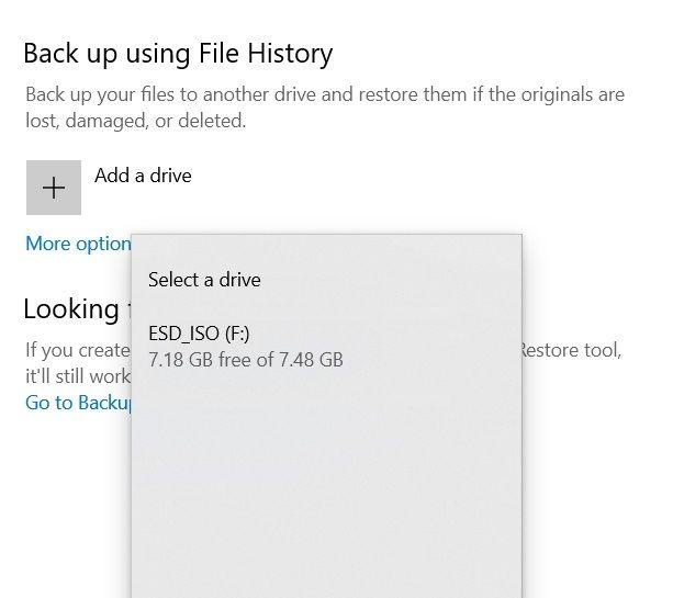10. Native Windows Backup