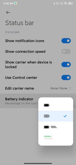New Battery Indicators Best MIUI 12 Features