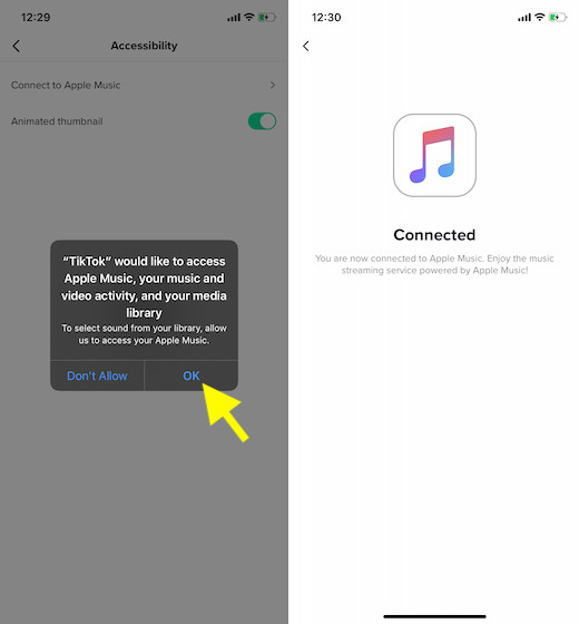Allow-TikTok-to-access-your-Apple-Music