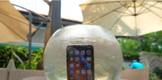 Apple Underwater UI feat