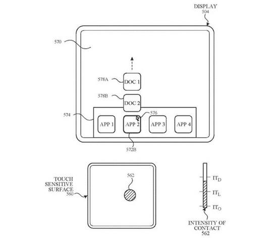 Apple underwater UI