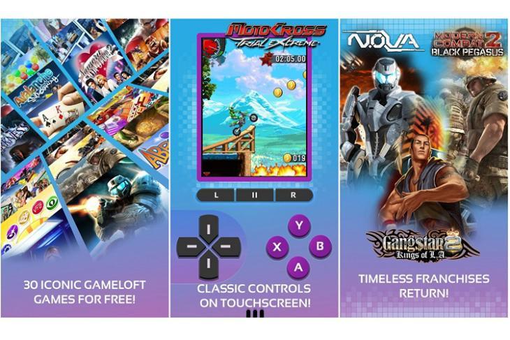 Gameloft Classics website